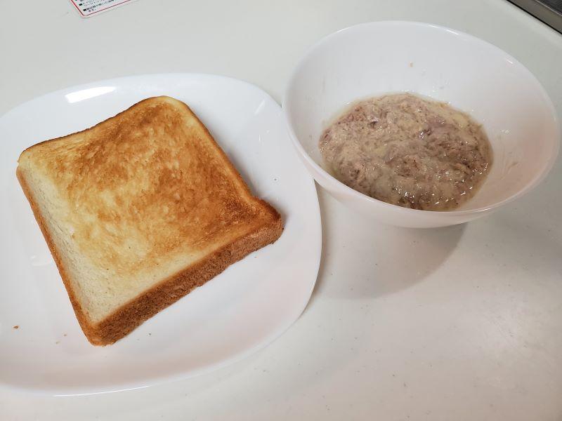 凪のお暇凪めしゴンのトースト