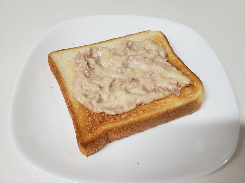 凪のお暇凪めしゴンのトースト完成