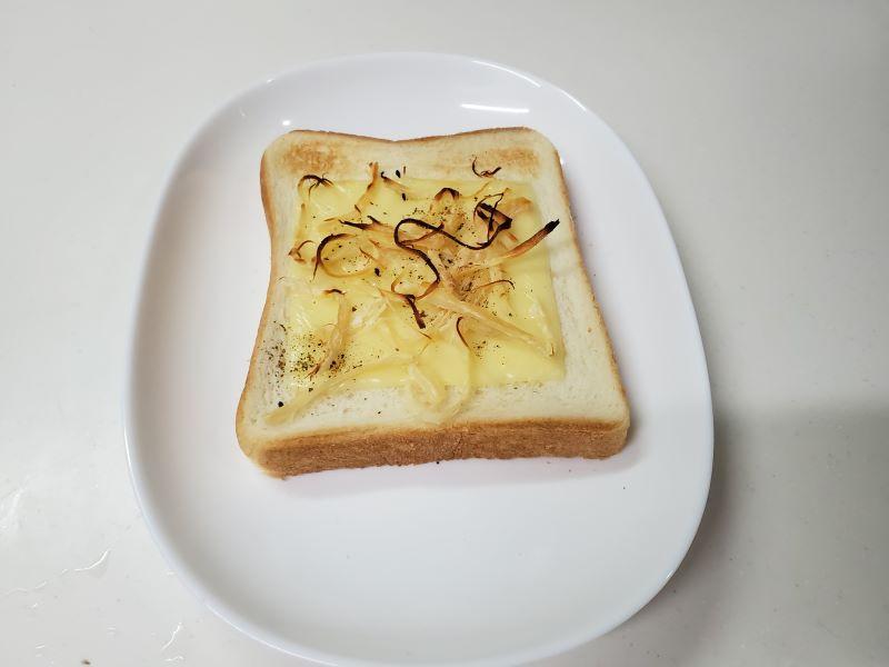 凪のお暇凪めしゴンのトースト幻トースト完成