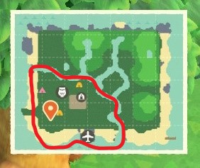 あつ森の地図